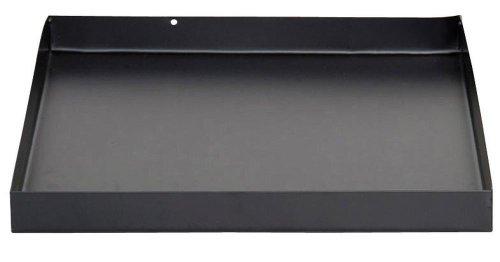 Esschert Design Bodenplatte, Bodenschutz für Feuerkorb oder Feuerstellen, quadratisch, ca. 32 cm x 32 cm x 3 cm