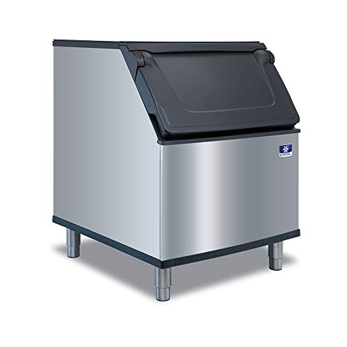 Manitowoc D400 12.3-Cubic Inches Ice Bin, Stainless Steel, NSF (365-Pound Capacity)