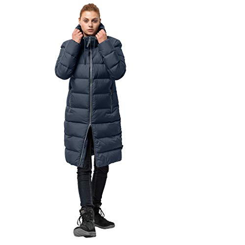 Jack Wolfskin Damen Crystal Palace Coat Winterjacke, Midnight Blue, L