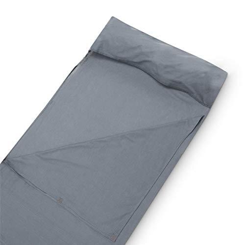 Mivall Schlafsack Inlay Baumwolle »dünn, Ultraleicht, kleines Packmaß & platzsparend« Kompakter Liner für Reisen [Backpacker] im Sommer
