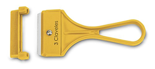 3Claveles 243 - Rrascavidrio de 10 cm, hoja de 40 mm