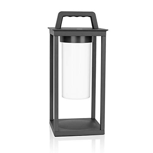 SPECILITE Portable LED Camping Lantern, Metal Handheld Light with Dimmer Touch Switch, Rechargeable Led Lantern, Waterproof, 200 Lumen for Indoor or Outdoor
