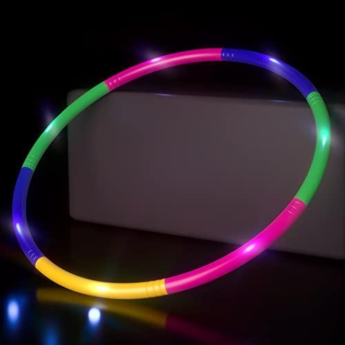 Leuchtende Hoola Hoop Reifen Kinder, 7...
