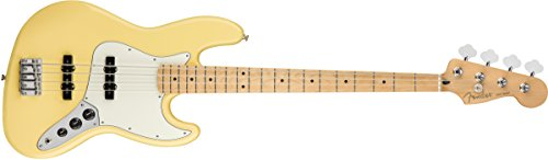 Fender Player Jazz Electric Bass Guitar - Maple Fingerboard - Buttercream
