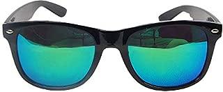Men and Women Sunglasses glasses Frame Eyewear Anti-Reflective Mirrored Polarized lenses-Light Green