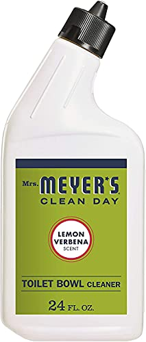 MRS. MEYER'S CLEAN DAY Toilet Bowl Cleaner Lemon Verbena, 24 OZ (Pack of 2)