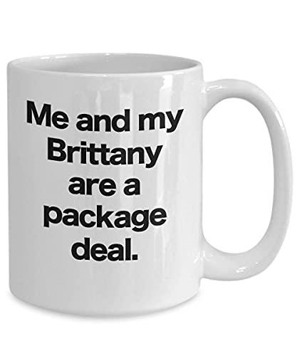 NA Taza de Perro Brittany Taza de café Regalo Divertido para el...