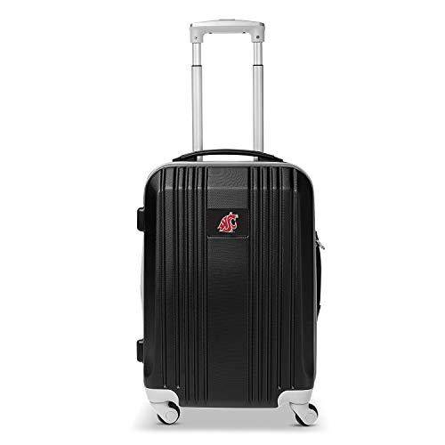 %61 OFF! Denco NCAA Washington State Cougars Two-Tone Hardcase Luggage Spinner