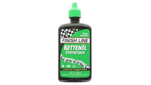 Finish Line WET Bicycle Chain Lube 2oz Drip Squeeze Bottle