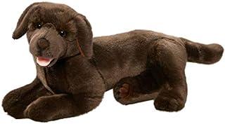 Carl Dick Peluche - Perro Labrador Retriever marrón acostado (Felpa, 36cm) [Juguete] 2473