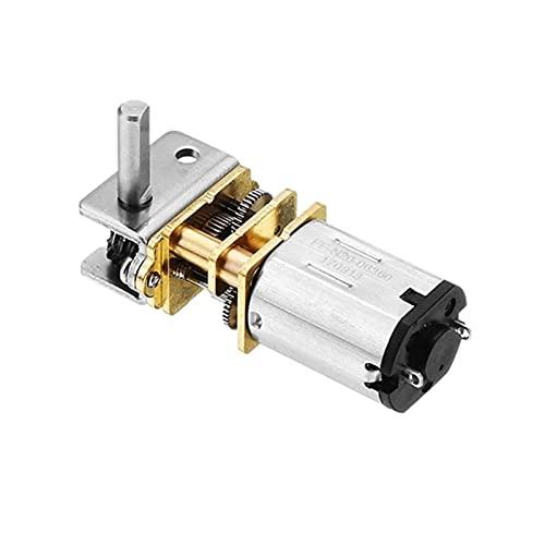 Riduttore elettrico riduttore GW12GA DC 6V 12V Motore elettrico ultra-ingranaggio a bassa velocità del motore di ingranaggio del verme più piccolo per auto intelligente Piccola dimensione grande torsi