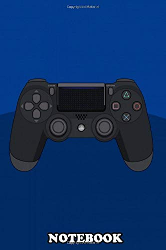 Notebook: The Evolution Of The Playstation Controller An Illust , Journal for Writing, College Ruled Size 6 x 9, 110 Pages