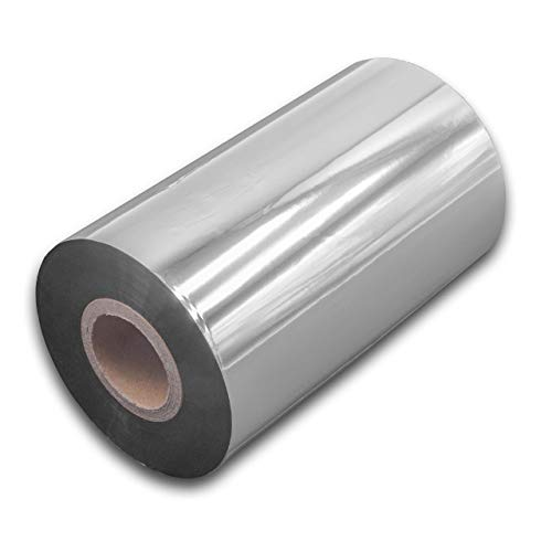 vhbw wischfest Thermotransfer-Band schwarz 110mm 300m passend für Drucker Etikettendrucker Godex EZPI 1300, G500, G530, RT700, RT730