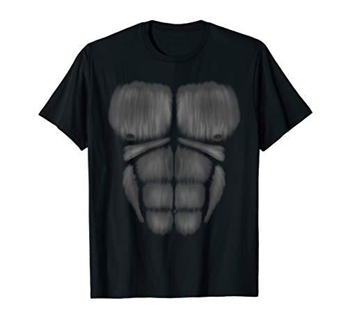 Fasching Kostüm Gorilla Shirt für Fasnacht und Karneval