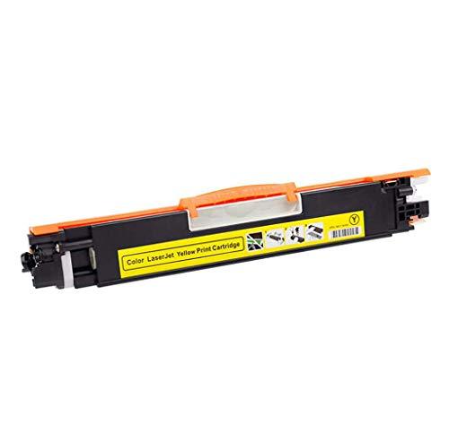 Compatible con HP CF350A Cartuchos Tinta Adecuado para Cartuchos Tinta Impresora De Tóner Hp130a M176nw Cartucho Multifunción M177fw Gran Capacidad De Tinta Combo,Amarillo