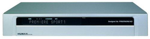 Humax PR-HD 1000 HDTV Digitaler Satelliten-Receiver (geeignet für Premiere) Silber