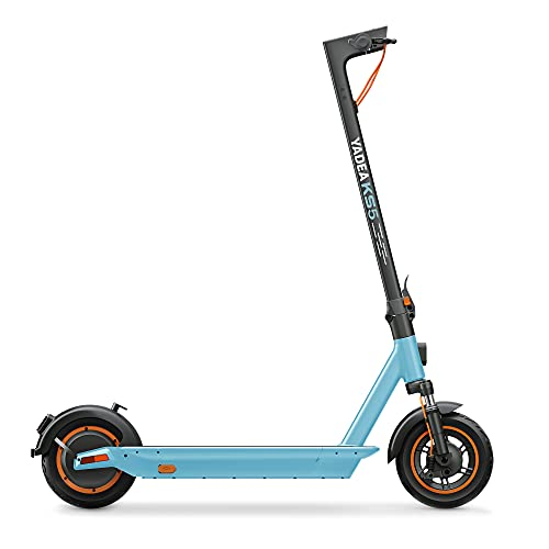 YADEA Electric Scooter KS5, Max Speed 18.6 MPH, 25 Miles Range, Foldable and Portable Commuter...