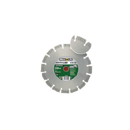 Flexovit 70184626160 diamantschijf voor haakse slijper, 230 mm D x 15 mm L x 3 mm E x 22,23 mm