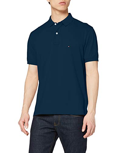 Tommy Hilfiger Tommy Regular Polo Camicia, Lakeside, XS Uomo