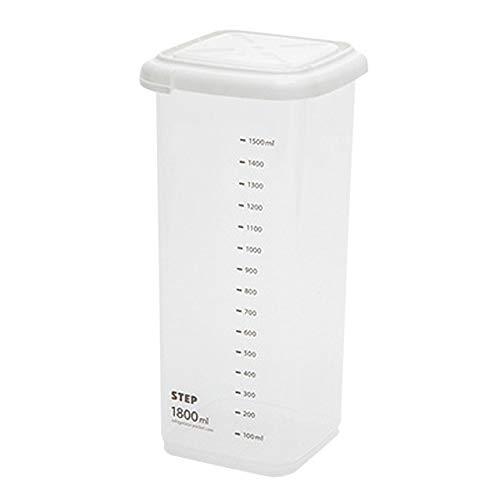 25 # 240-2200ML Voedsel Opslag Container Plastic Keuken Koelkast Noedel Doos Meergranen Opslagtank Transparant Verzegelde Cans-D, België