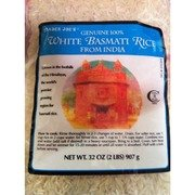Trader Joe s Genuine 100% White Basmati Rice from India 2 lbs - 2 pack