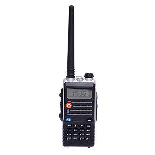 XAOBNIU Walkie Talkie Recargable de Larga Distancia Radio de Dos vías con el Cargador Auricular, Paquete de 2 PMR446 8 Canales