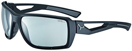 Cébé Shortcut Gafas, Unisex Adulto, Negro/Gris (Mate), L