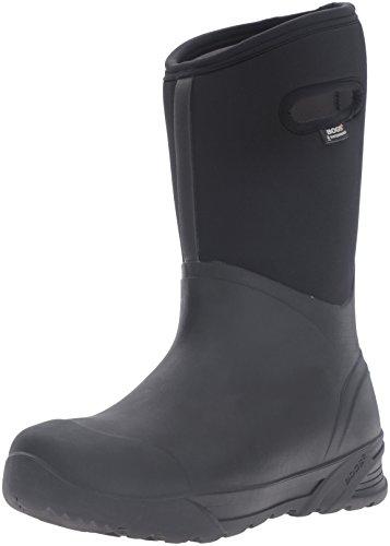 Bogs Men's Bozeman Tall Waterproof Insulated Rain Boot, Black, 11 D(M) US