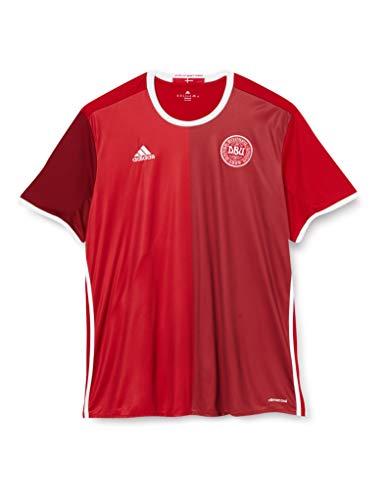 adidas Herren T-shirt DBU H Jersey Kurzarm Heimtrikot, Power Red/Red, L