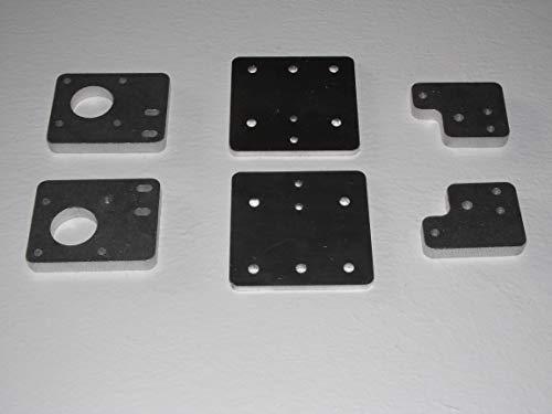 Tronxy X5S X5SA - Juego de 6 placas de aluminio