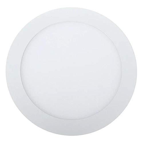 Ultra delgado 3W / 6W / 9W / 12W / 15W LED Rejilla empotrada en el techo Downlight Panel redondo delgado Light-Warm_white_15W