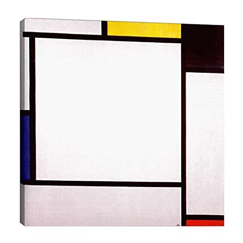 Piet Mondrian 《composición》 Cuadro en Lienzo| Lienzos Decorativos | Cuadros Decoración Dormitorios...