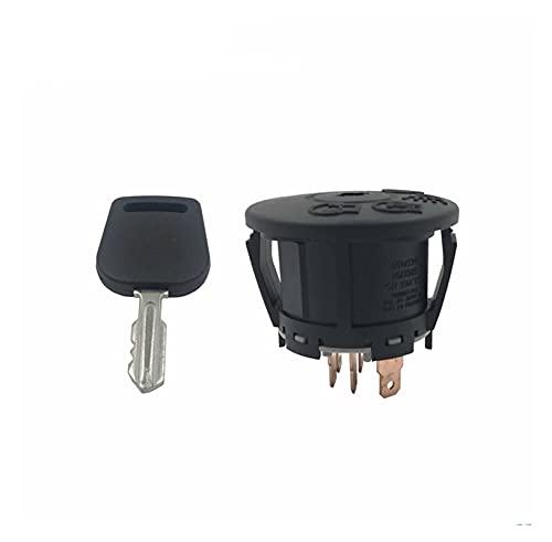 XIAOZHOU ZHOUBENXIANG 7 Interruptor de Encendido de Termina con 1 Ajuste de Llave for MTD Murray 925-1741 725-1741 94762 MU94762 Cortacésped Tractor