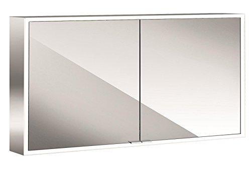 emco asis LED-Spiegelschrank Prime, AP 1300 mm, 2-türig, Rückwand Spiegel