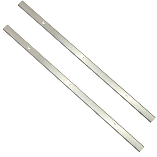 Asieg Tool Planer Blades Knives 12.5 Inches for Delta 22-560 22-562 22-565 TP400LS Craftsman 21758 Wen 6550 Triton TPT125 Performax Grizzly TP305 Porter Cable PC305TP 12-1/2