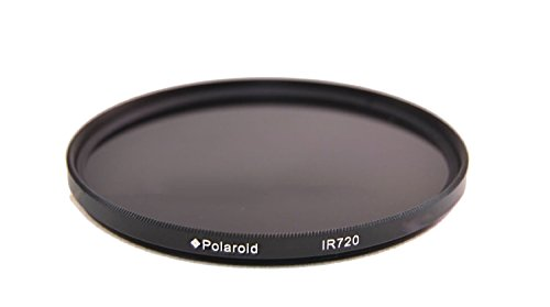 Polaroid Optics IR720 Infrared X-Ray Filter For The Sony Alpha DSLR SLT-A33, A35, A37, A55, A57, A58, A65, A77, A99, A100, A200, A230, A290, A300, A330, A350, A380, A390, A450, A500, A560, A550, A700, A850, A900 & Minolta Maxxum Digital SLR Cameras Which Have Any Of These (18-70mm, 18-55mm, 75-300mm, 55-200mm, 35mm f/1.8, 85mm f/2.8, 50mm, 100mm) Sony Lenses