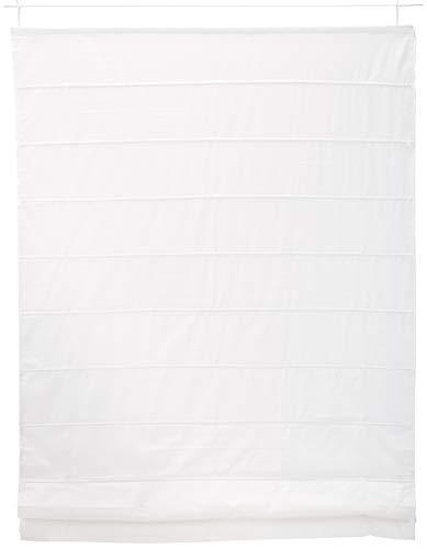 Estores Basic Estor Plegable con Varillas, Tela, Crudo, 120 x 175 cm