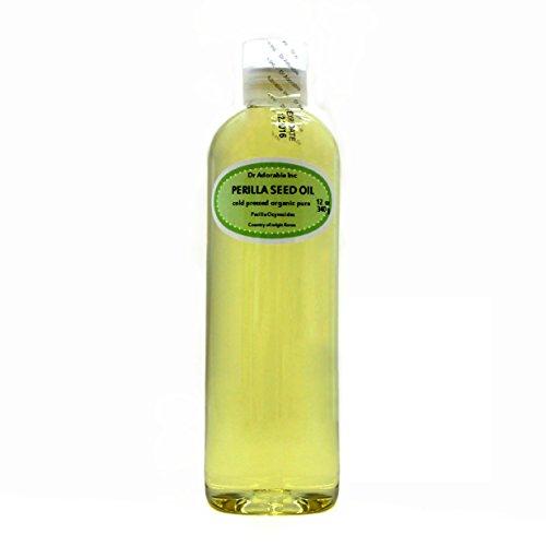 Perilla Seed Oil Oil Pure Cold Pressed Organic 12 Oz