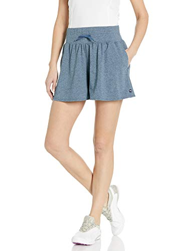 PUMA Golf 2020 Women's Flowy Short, Dark Denim, Double x Small