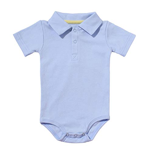 Baby Kleidung Set Strampler Overall Neugeborenes Baby Mädchen Jungen Kurzarm Einfarbig Overall Kleinkind Jumpsuit Outfits Spielanzug Babykleidung Kleider Set Allence