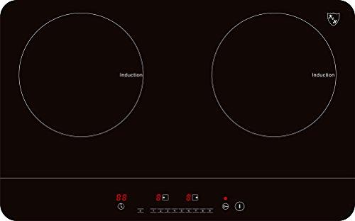 K&H® Doppel SLIM Induktionskochfeld DIN-3502S