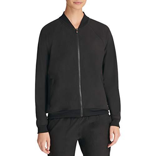 Sport Graphic Bomber Jacket, Black, Medium