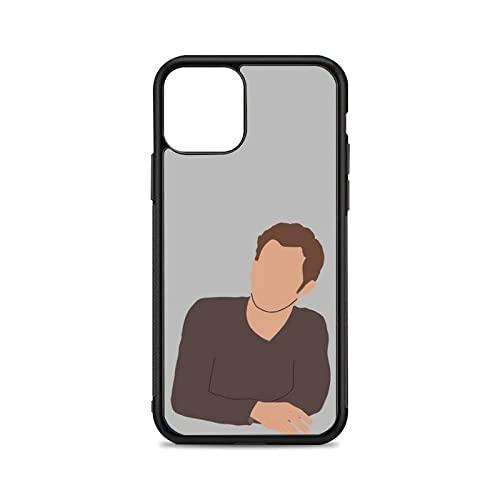 Estuche Gris para teléfono con Retrato para iPhone 12 Mini 11 13 Pro XS MAX X XR 6 7 8 Plus SE20 Suave TPU Silicona Transparente patrón, A1, para iPhone 7or8