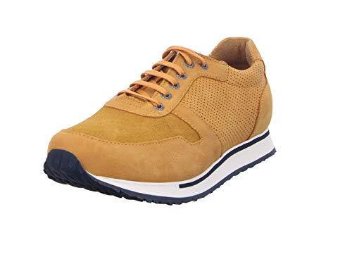 Wolky Comfort Sneakers e-Walk Men 2-11550 gelb-orange Nubuk - 44