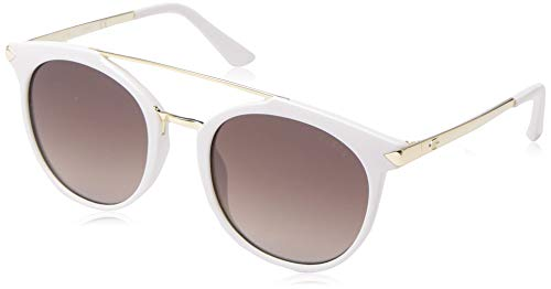 Guess GU7532 21F 52 Monturas de gafas, Blanco (BiancoMarrone Grad), 52.0 Unisex Adulto