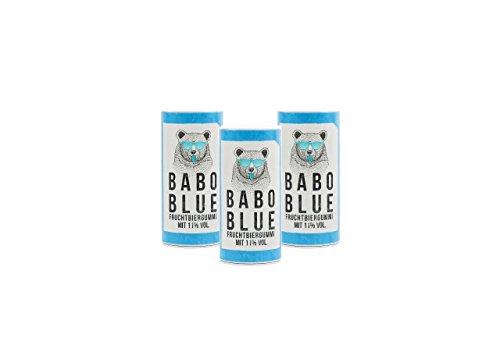 3 x BABO blue Fruchtbiergummis 11% vol.