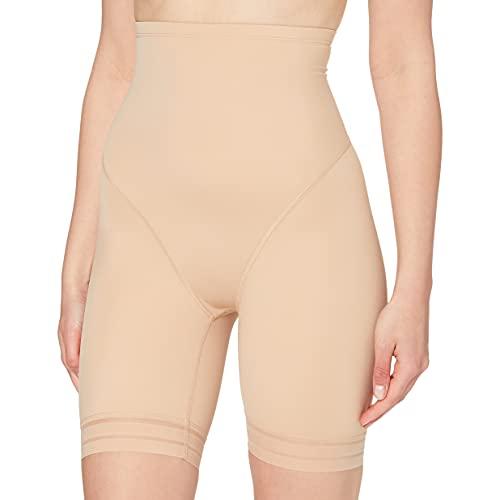 Marque Amazon - Iris & Lilly Pantalon Gainant Support Moyen Femme, Beige (Nude), XS, Label: XS