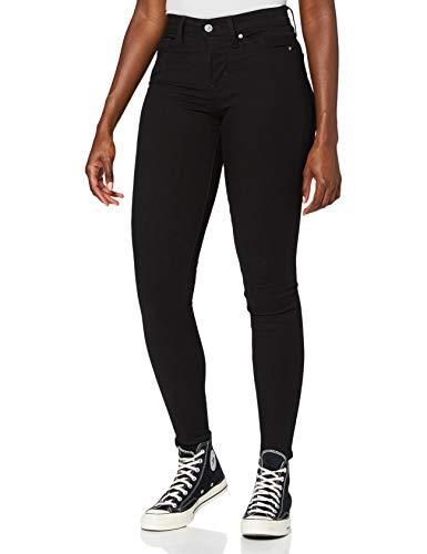 Levi's Damen 310 Shaping Super Skinny Jeans, Schwarzest Night, 31W / 32L