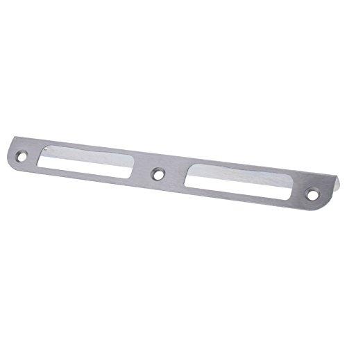 ToniTec Winkelschließblech Edelstahl für Zimmertüren gleichschenklig 20x170mm