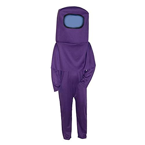 Maimiao Juego de Disfraz de Astronauta Entre Mono de Cosplay Mono Espacial con Casco Mochila Accesorios de Juego de rol Halloween